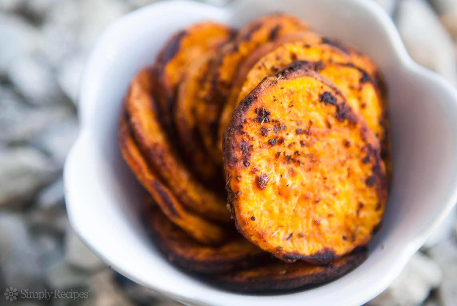 Sweet Potato Recipes  Oven Baked Sweet Potato Fries Recipe