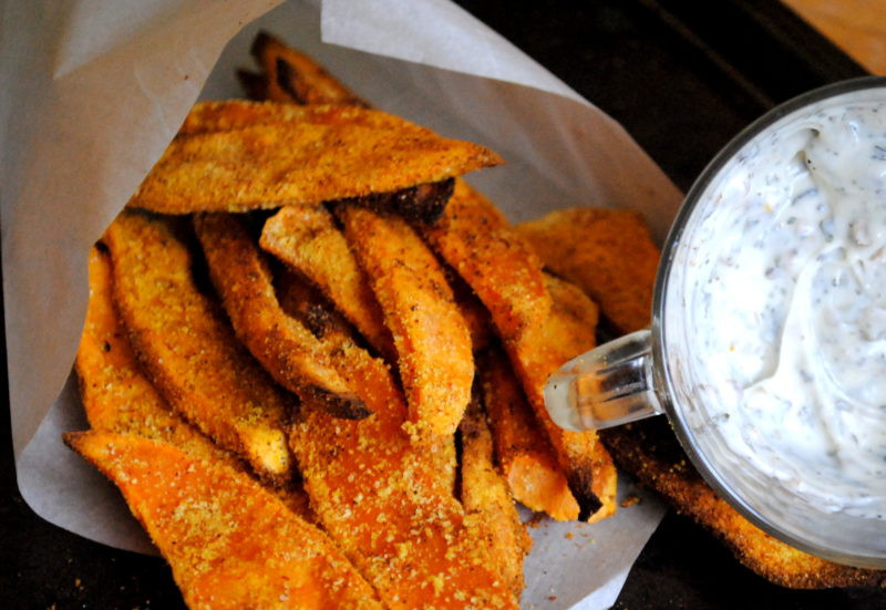 Sweet Potato Recipes Indian  Indian Style Sweet Potato Fries Primal Palate