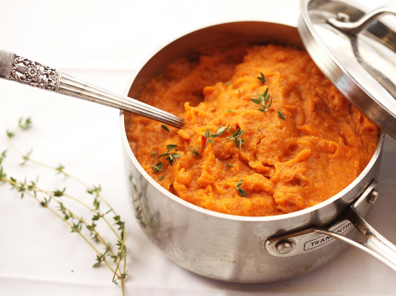 Sweet Potato Recipes  The Best Mashed Sweet Potatoes Recipe