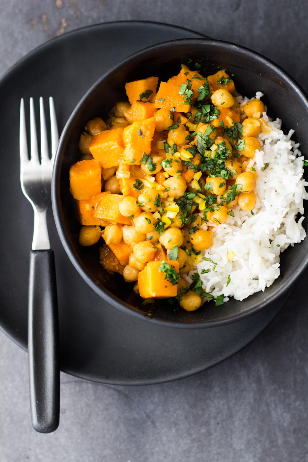 Sweet Potato Recipes Vegan  Vegan Sweet Potato and Chickpea Curry Green Healthy Cooking