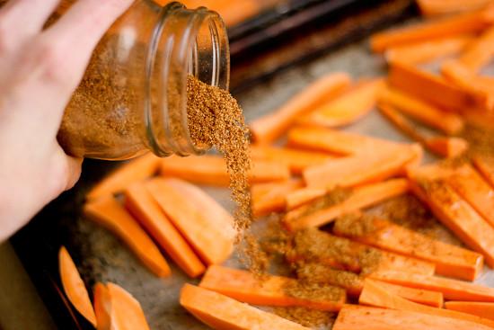 Sweet Potato Season  Sweet Potato Fry Seasoning Tips for making fries Perry
