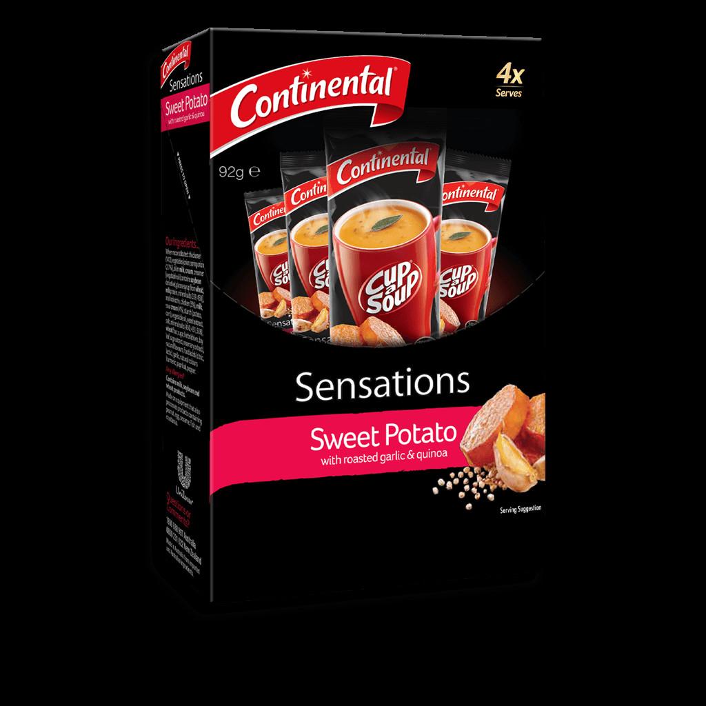 Sweet Potato Sensations  Sweet Potato with Roasted Garlic and Quinoa