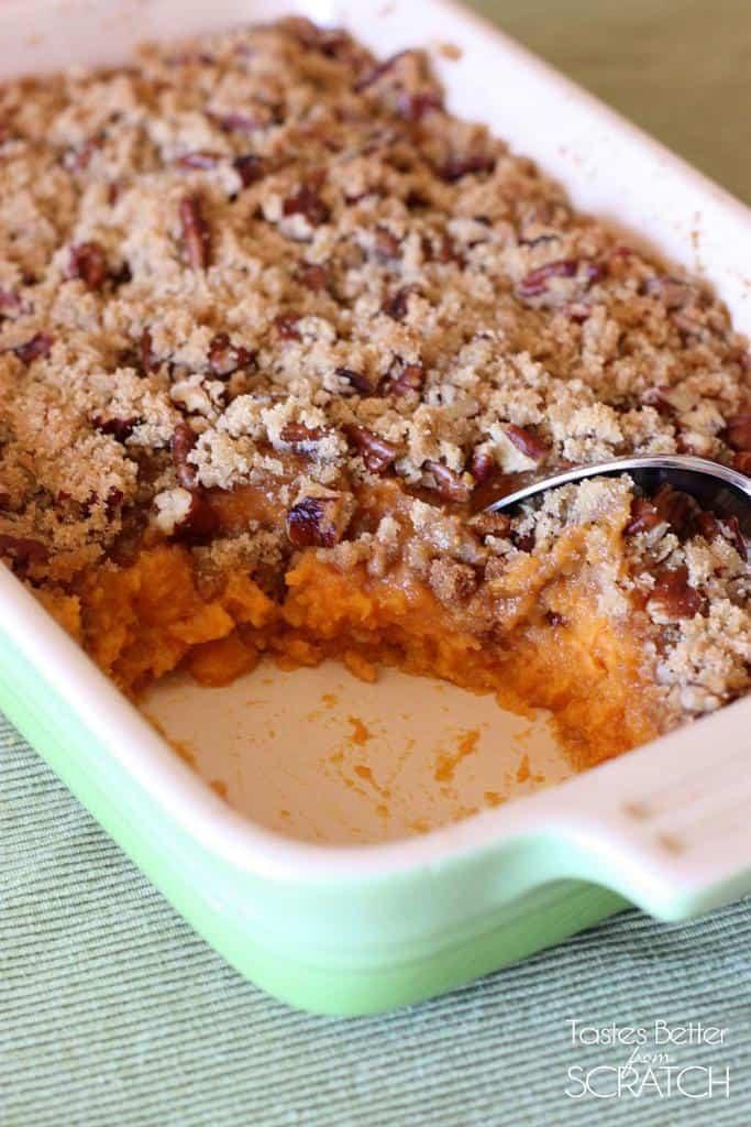 Sweet Potato Souffle Recipe  Sweet Potato Souffle Tastes Better From Scratch