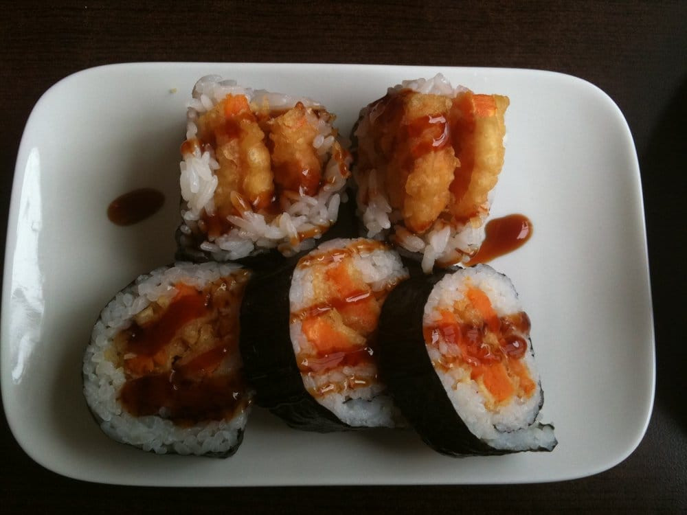 Sweet Potato Tempura  Sweet Potato Tempura Roll