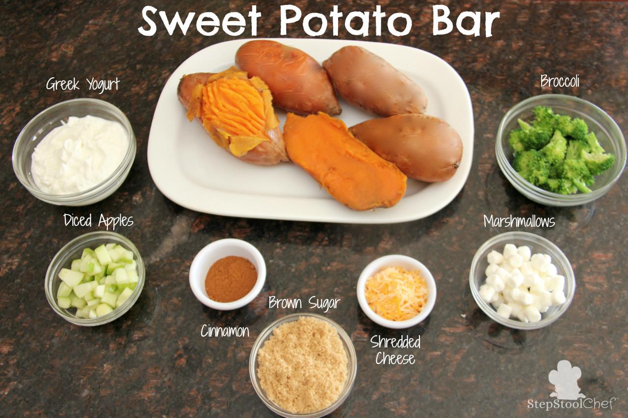 Sweet Potato Toppings  Sweet Potato Bar