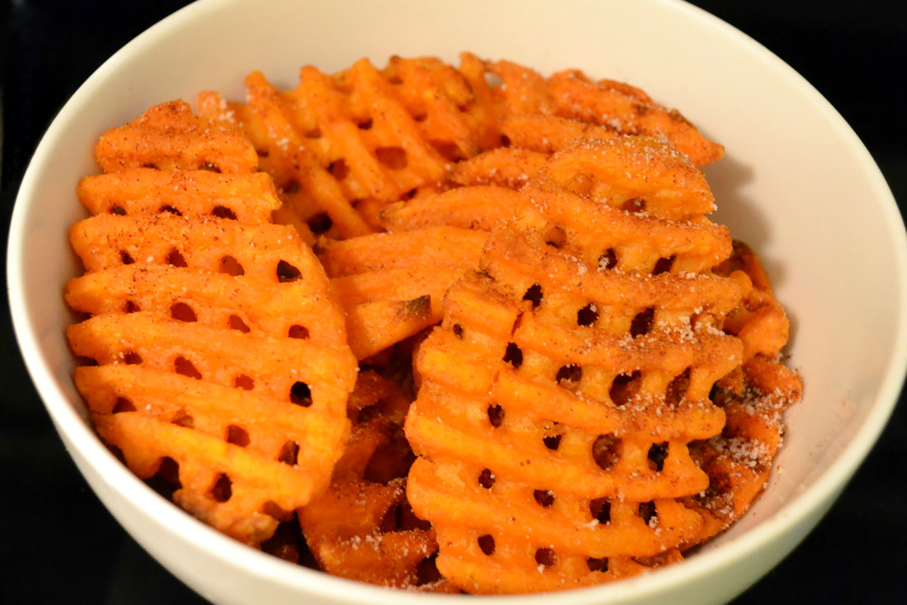 Sweet Potato Waffle Fries  McCain Grocery Goodness Giveaway As The Bunny Hops
