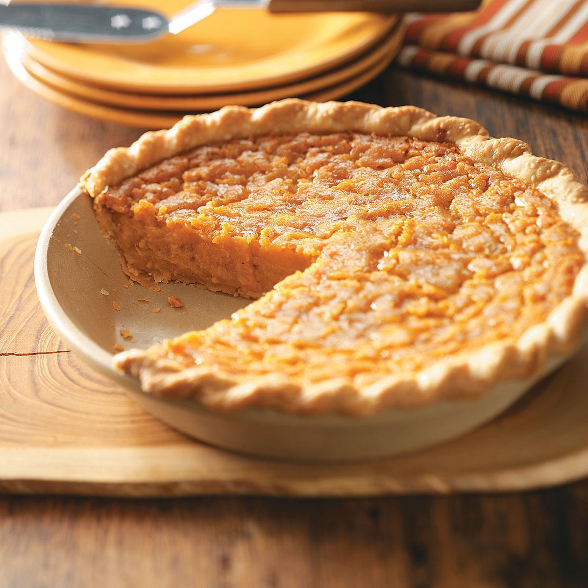 Sweet Potatoes Dessert Recipe  Southern Sweet Potato Pie Recipe