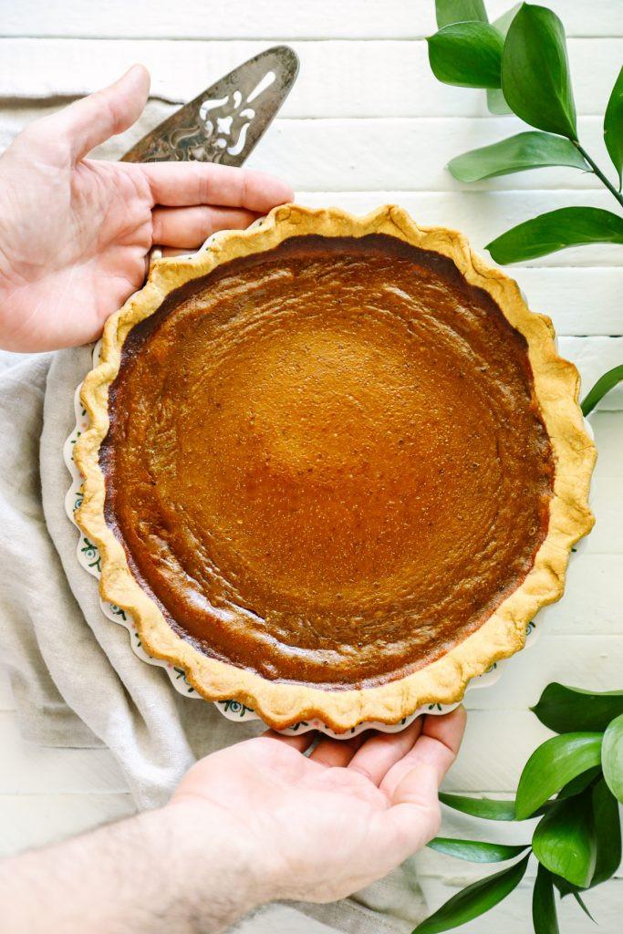 Sweetened Condensed Milk Pumpkin Pie  pumpkin pie without condensed milk