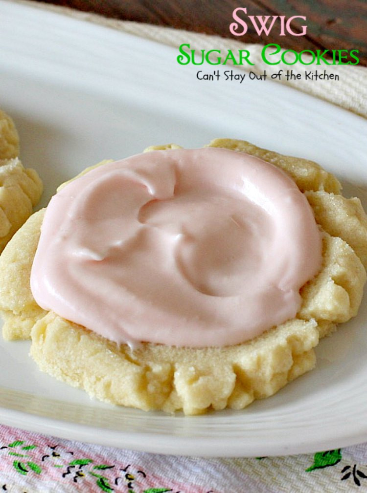 Swig Sugar Cookies  Swig Sugar Cookies Can t Stay Out of the Kitchen