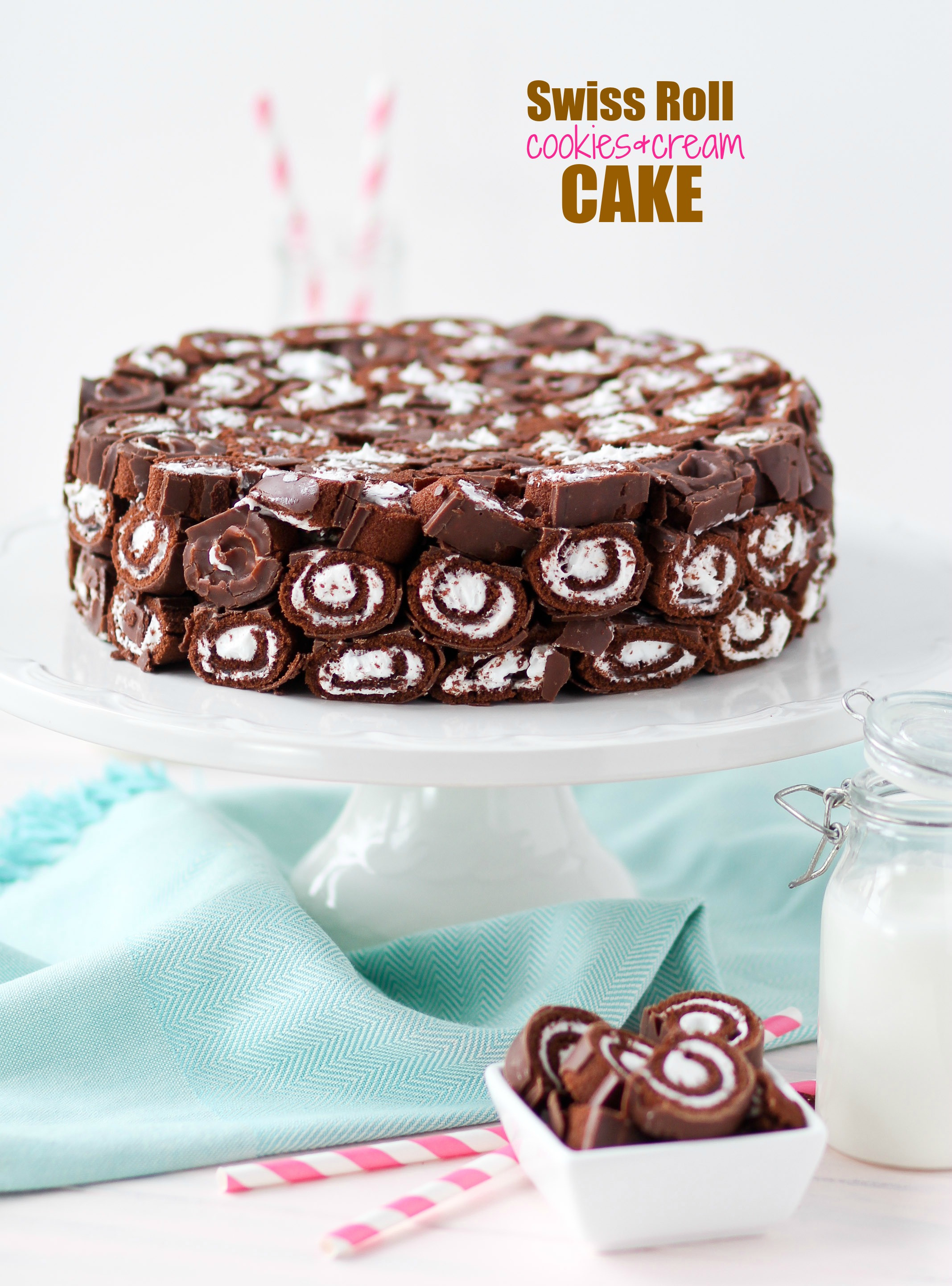 Swiss Roll Cake Recipe  appetizing swiss roll cake id 1104d ⋆ Cakes for birthday