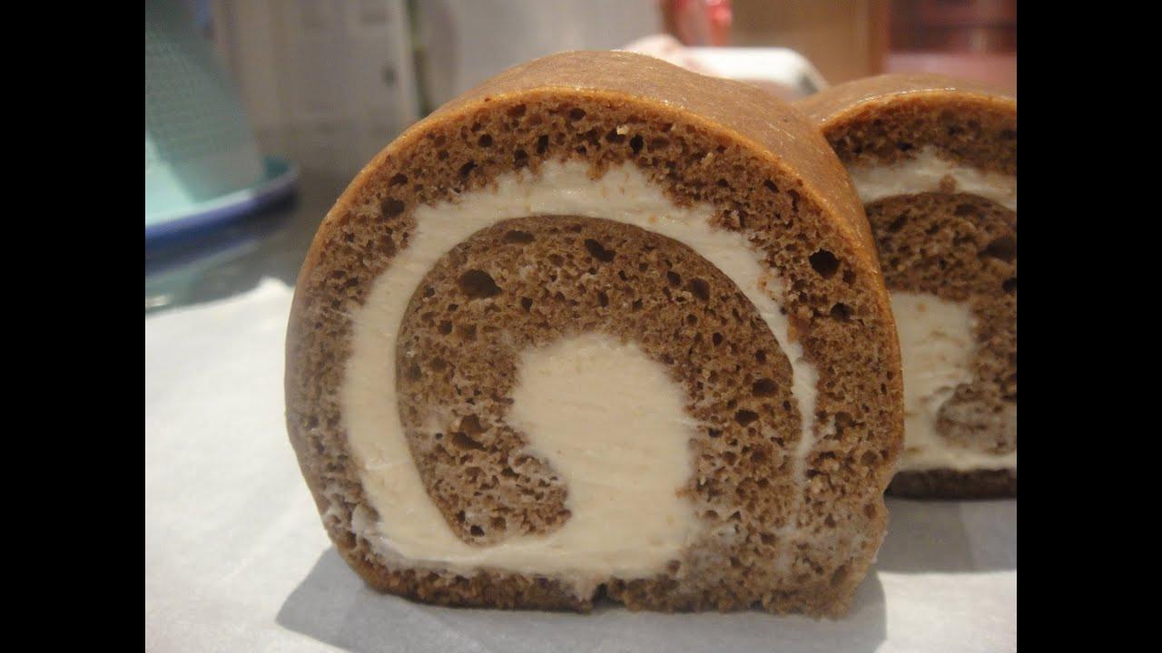 Swiss Roll Cake Recipe  How to make Coffee Swiss Roll Cake Recipe 咖啡瑞士卷
