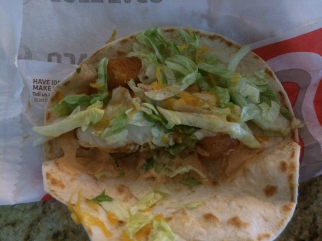 Taco Bell Spicy Potato Soft Taco  A Thorough And Painfully Scientific Review Taco Bell's