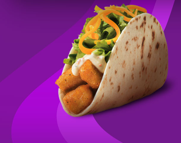Taco Bell Spicy Potato Soft Taco  Eat Tacos Battle Domestic Violence – SC Access To Justice