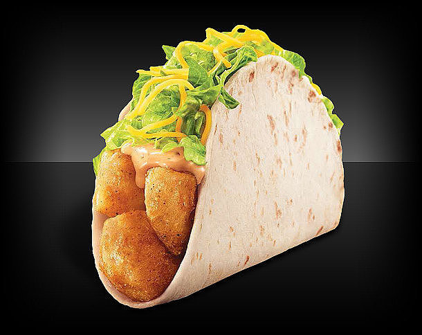Taco Bell Spicy Potato Soft Taco  Crazy Fast Food Items You Need to Try
