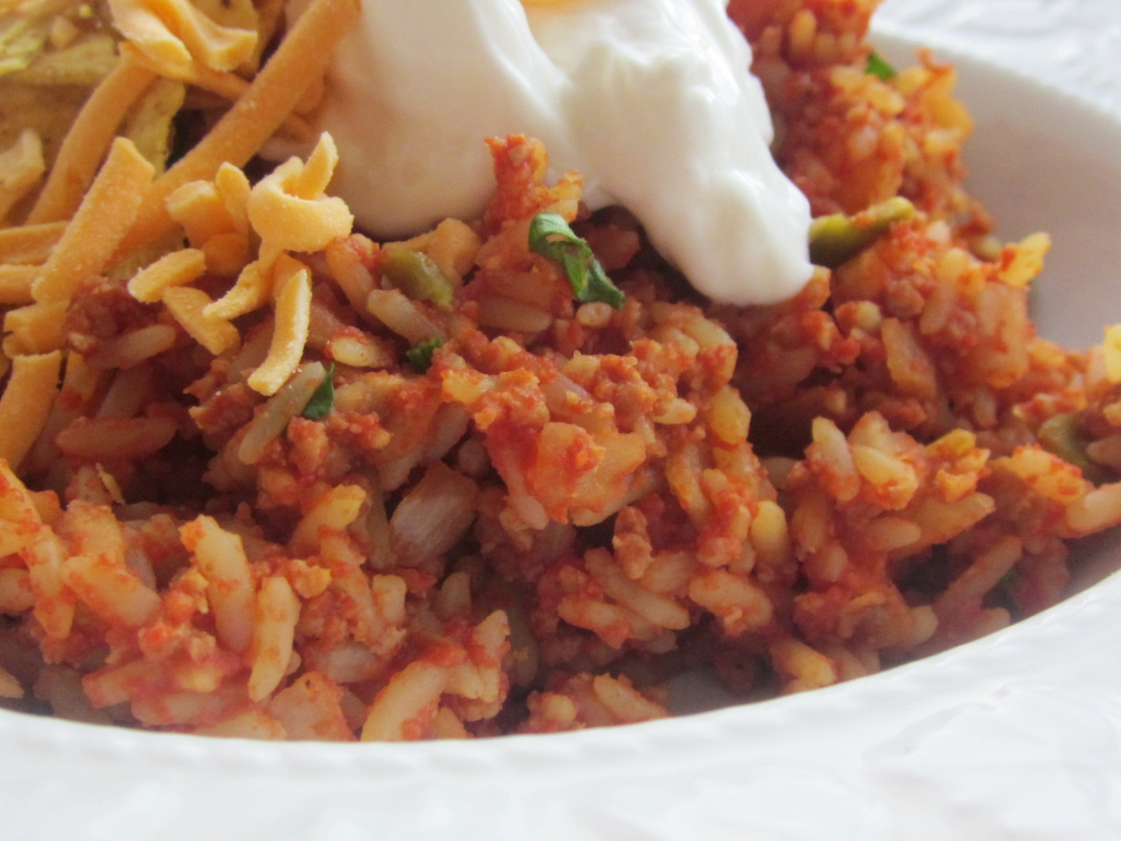 Taco Casserole With Rice  Chef Tess Bakeresse 6 Quick and Easy Freezer Dinners from