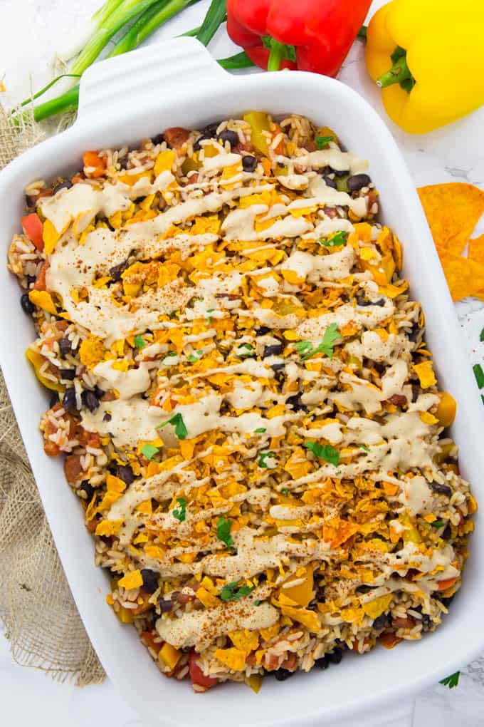 Taco Casserole With Rice  taco rice casserole