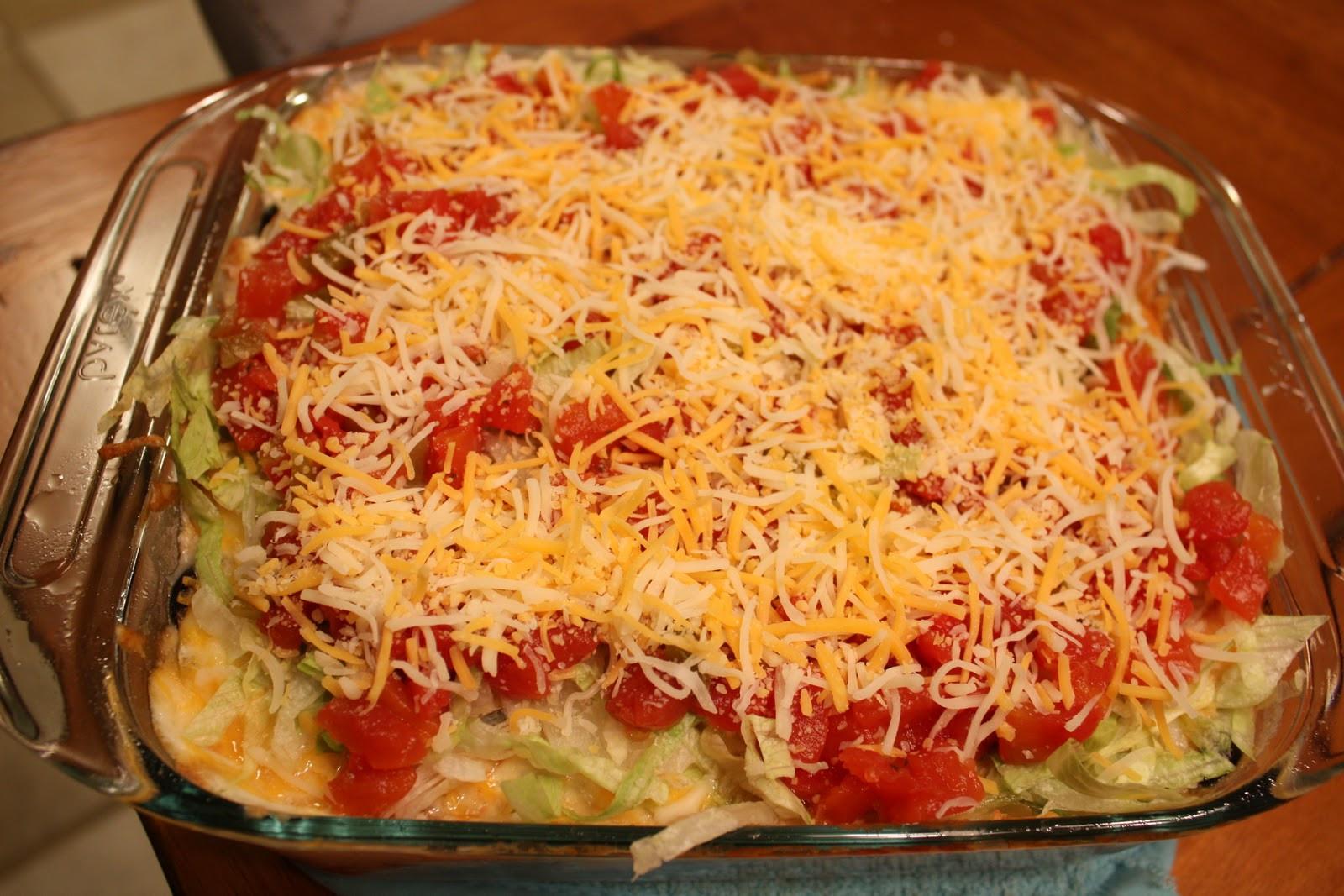 Taco Cornbread Casserole  Piece of Cake Recipes Taco Cornbread Casserole