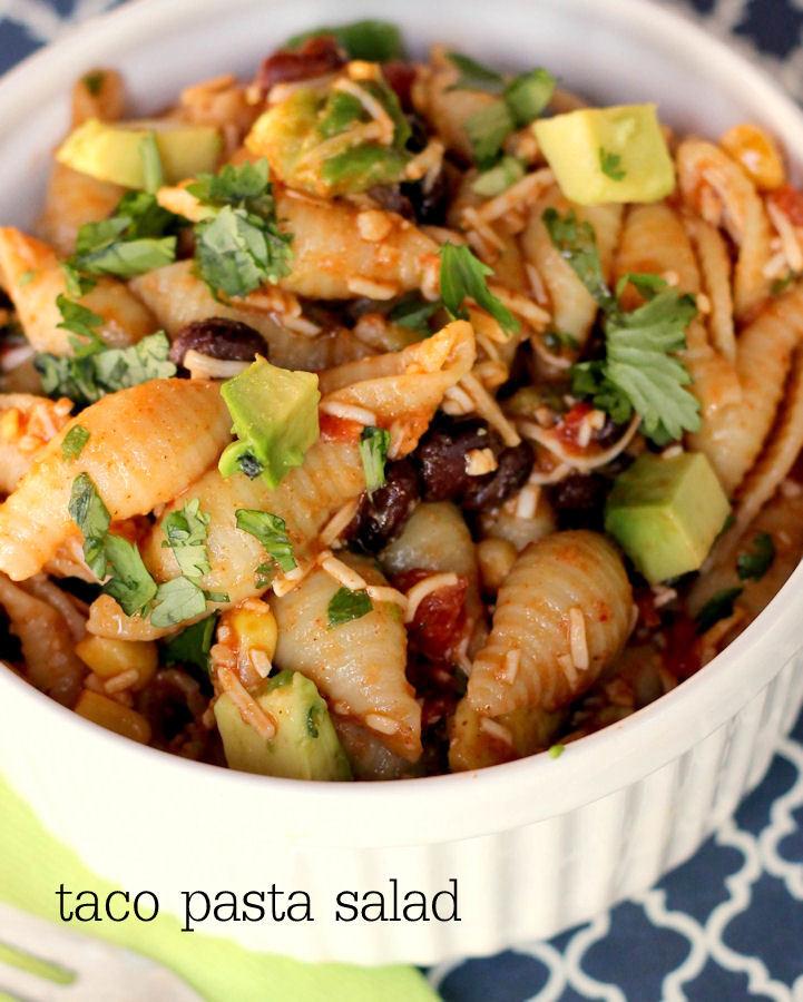 Taco Pasta Salad  Taco Pasta Salad