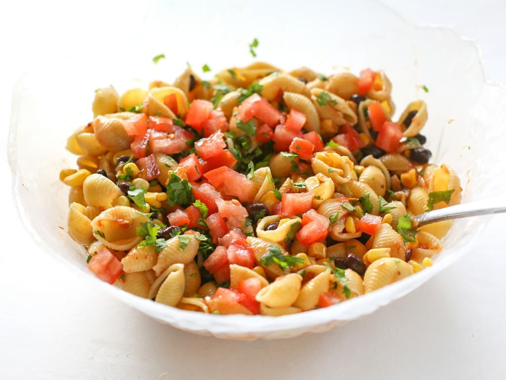 Taco Pasta Salad  Taco Pasta Salad The Girl Who Ate Everything