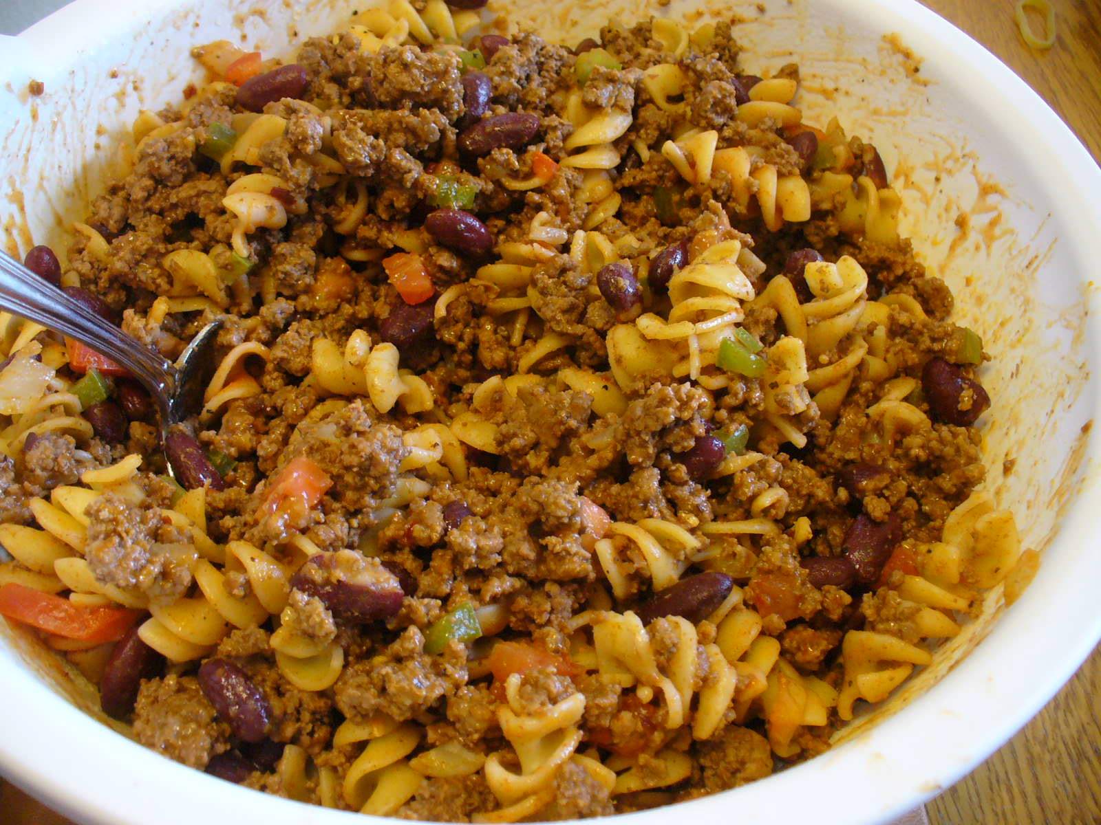 Taco Pasta Salad  Audrey s Country Crafts Taco Pasta Salad