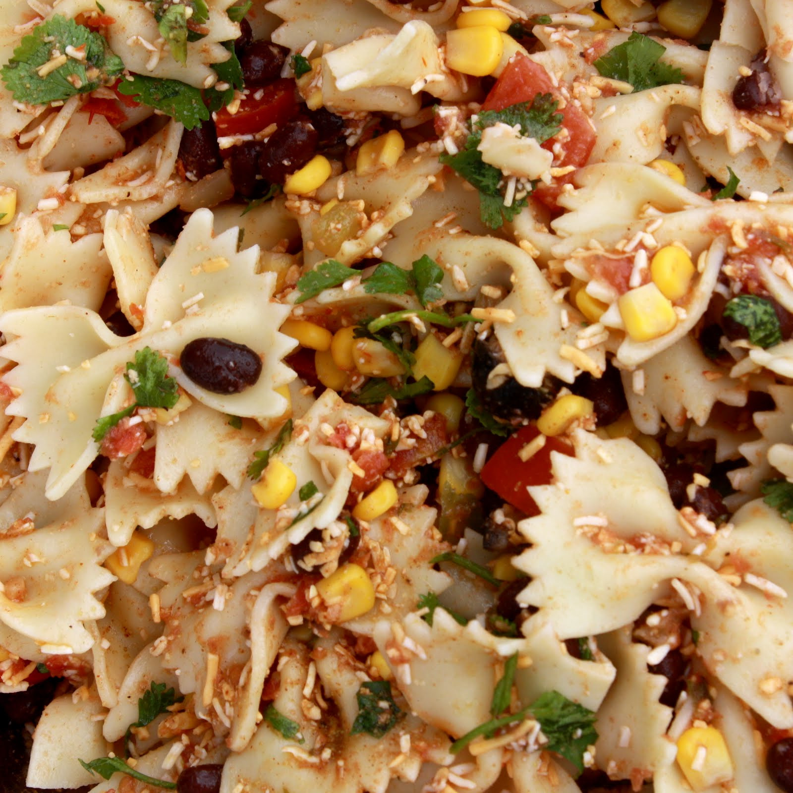 Taco Pasta Salad  from Christine s Cuisine