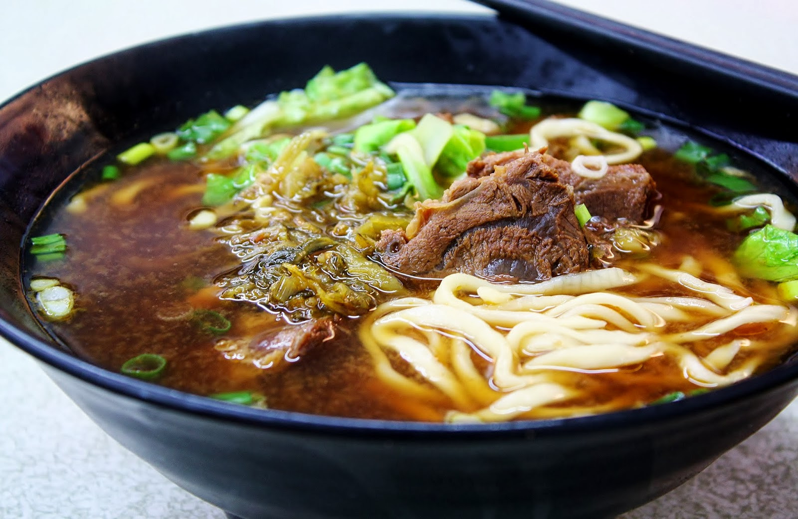 Taiwan Beef Noodle Soup  10 Tasty Asian Soups to Keep You Warm Over the Holidays