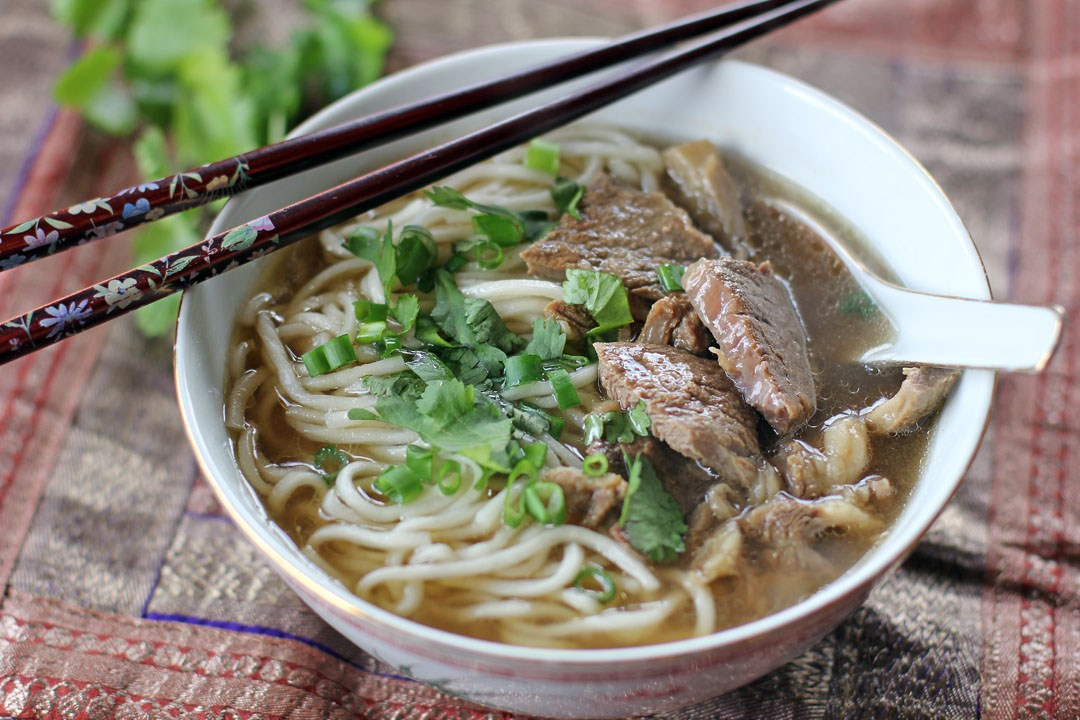 Taiwan Beef Noodle Soup  Taiwanese Beef Noodle Soup Ang Sarap