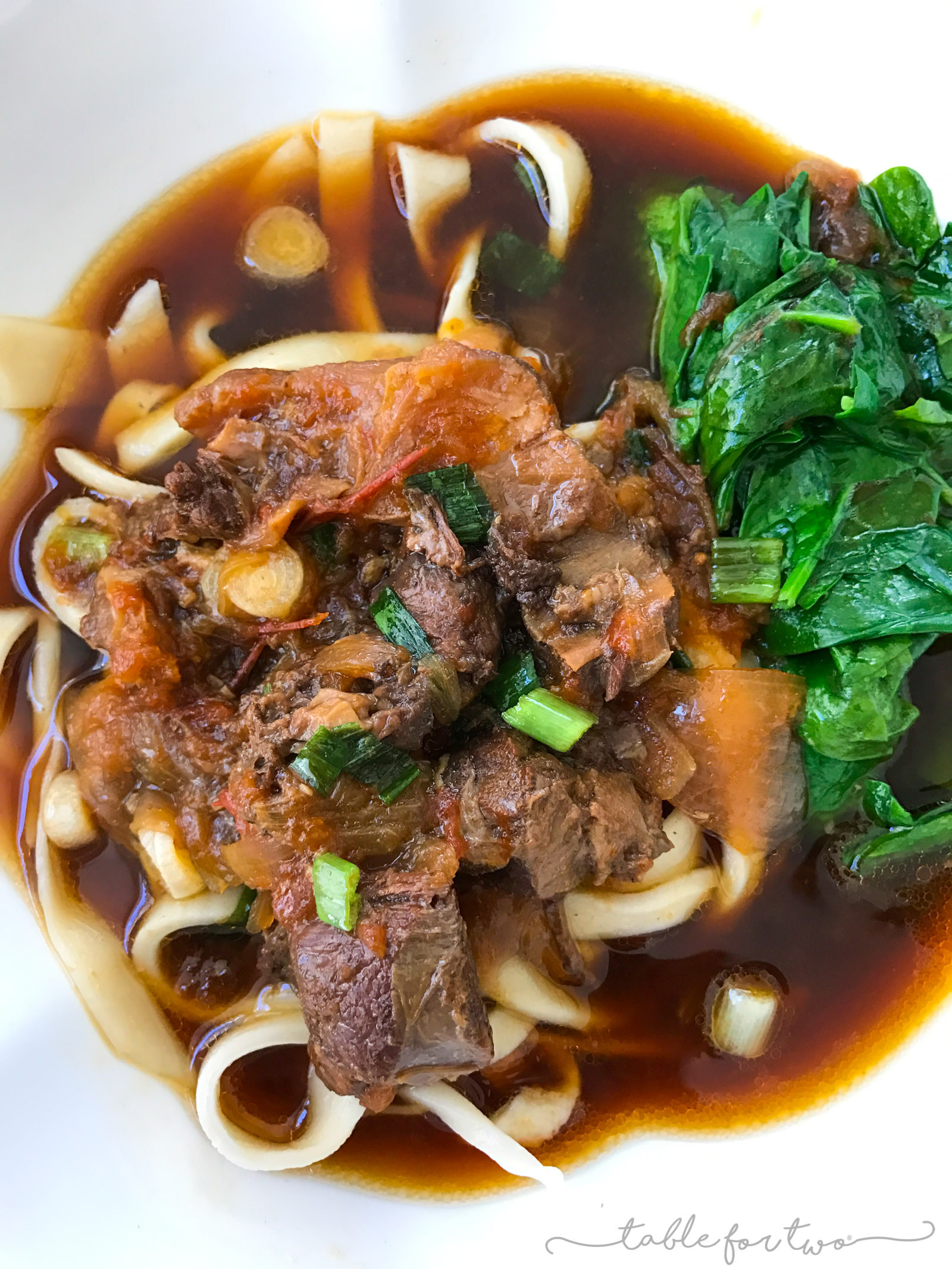 Taiwan Beef Noodle Soup  Taiwanese Noodle Soup Instant Pot or Pressure Cooker
