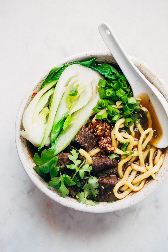Taiwan Beef Noodle Soup  Weekend Taiwanese Beef Noodle Soup