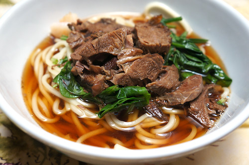 Taiwan Beef Noodle Soup  Chinese braised beef noodle soup