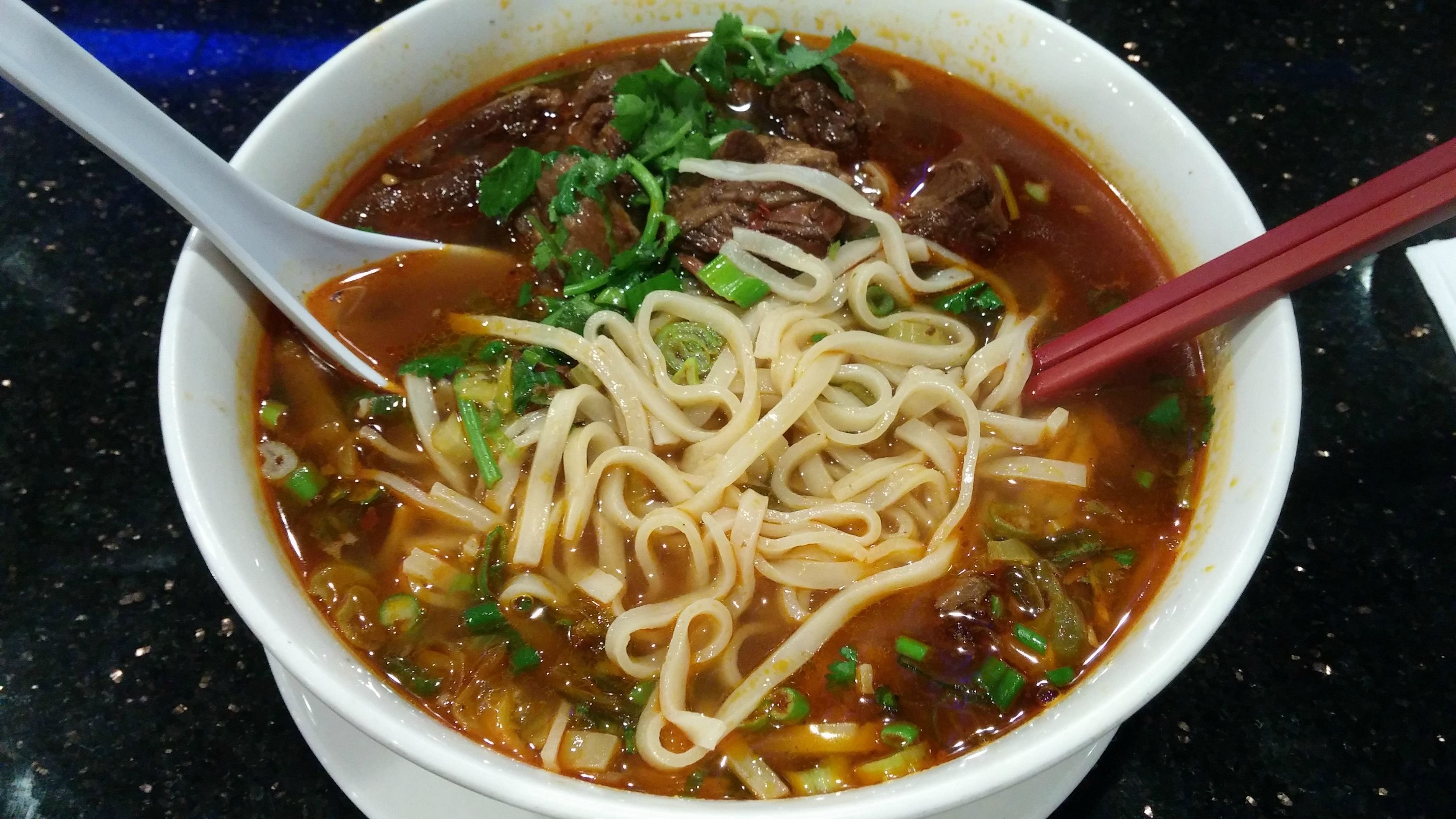 Taiwan Beef Noodle Soup  Taiwanese Spicy Beef Noodle Soup food
