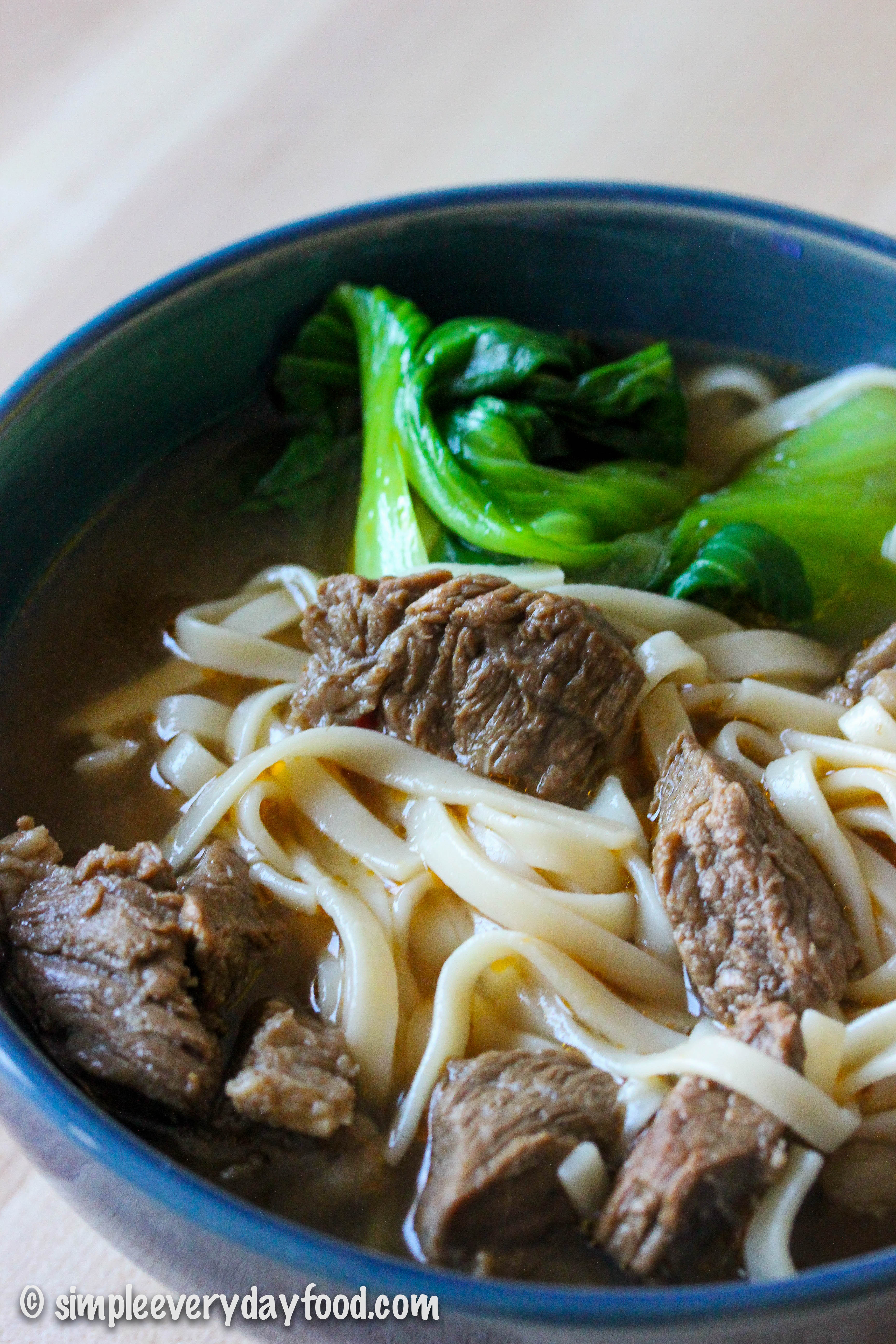 Taiwan Beef Noodle Soup  taiwanese beef noodle soup Simple Everyday Food