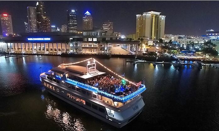 Tampa Dinner Cruise  Nautical St Petersburg Wedding