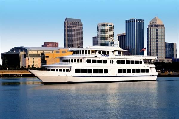 Tampa Dinner Cruise  Yacht StarShip Dining Cruises Tampa FL