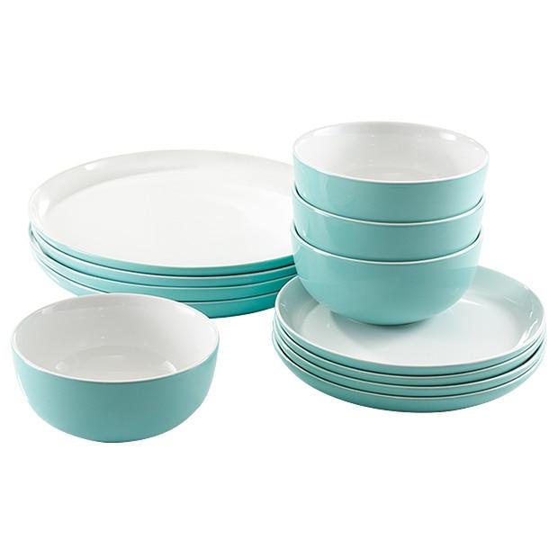 Target Dinner Sets  Canteen 12 Piece Dinnerset Blue