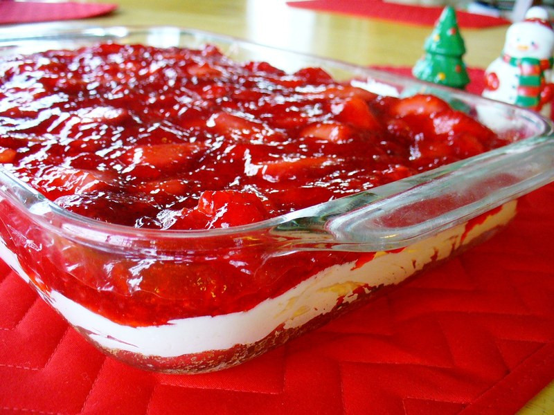 Taste Of Home Strawberry Pretzel Dessert  Strawberry Pretzel dessert Recipe by tony CookEat