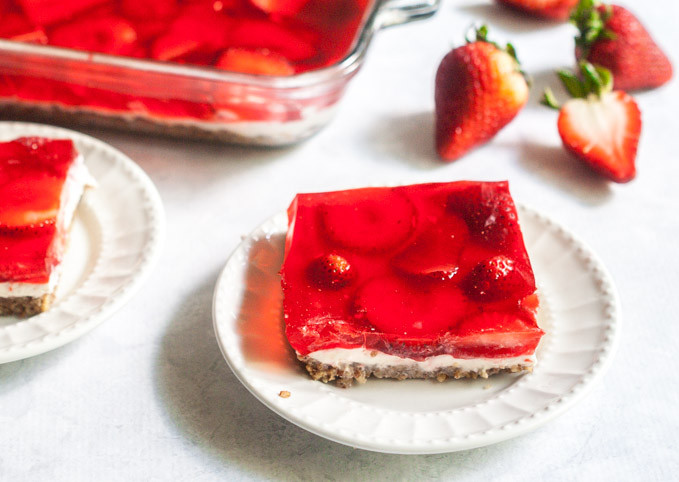 Taste Of Home Strawberry Pretzel Dessert  Low Carb Strawberry Pretzel less Dessert My Life