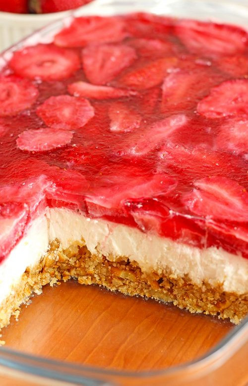Taste Of Home Strawberry Pretzel Dessert  Strawberry Pretzel Dessert Recipe Bud Mealsfo