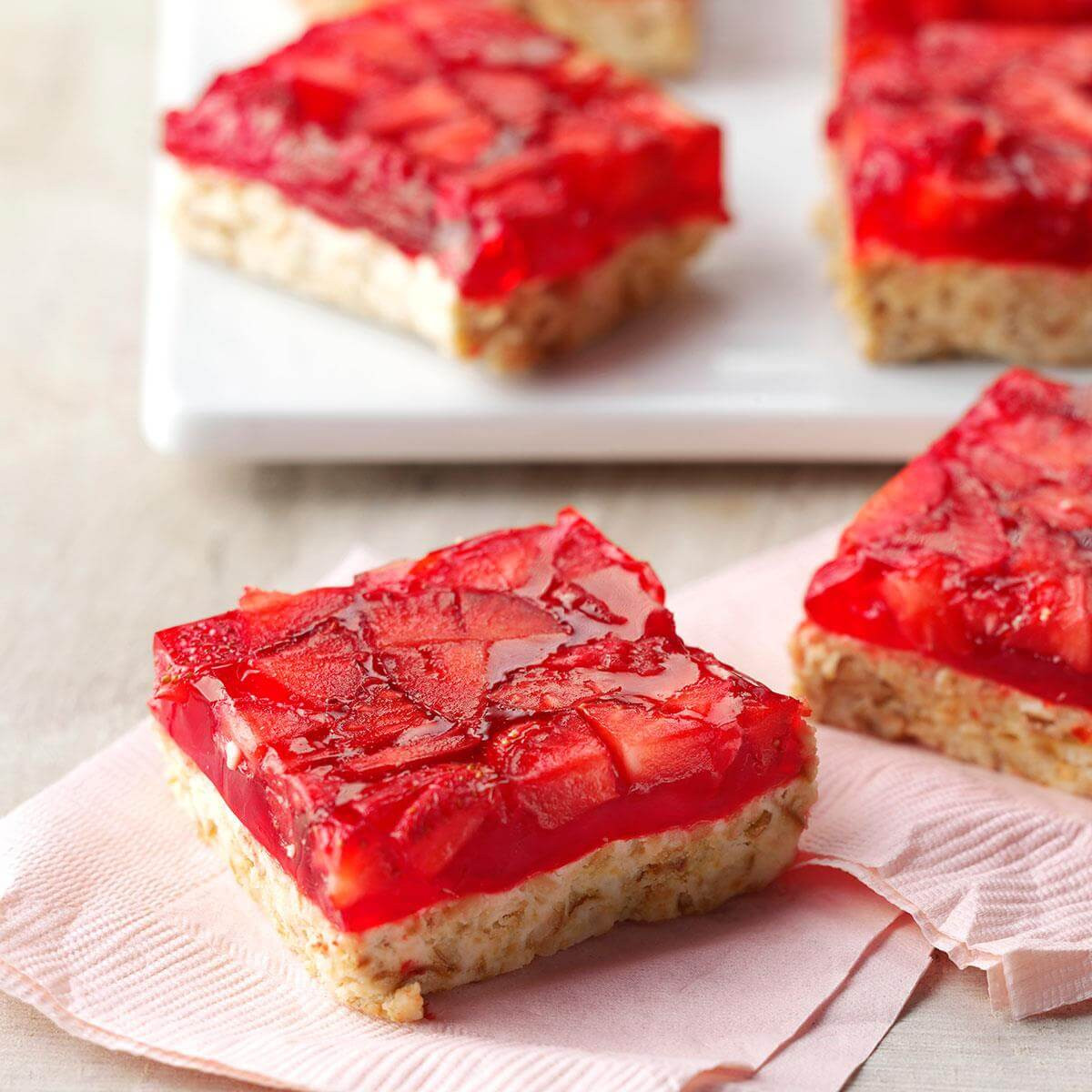 Taste Of Home Strawberry Pretzel Dessert  Strawberry Lime Bars Recipe