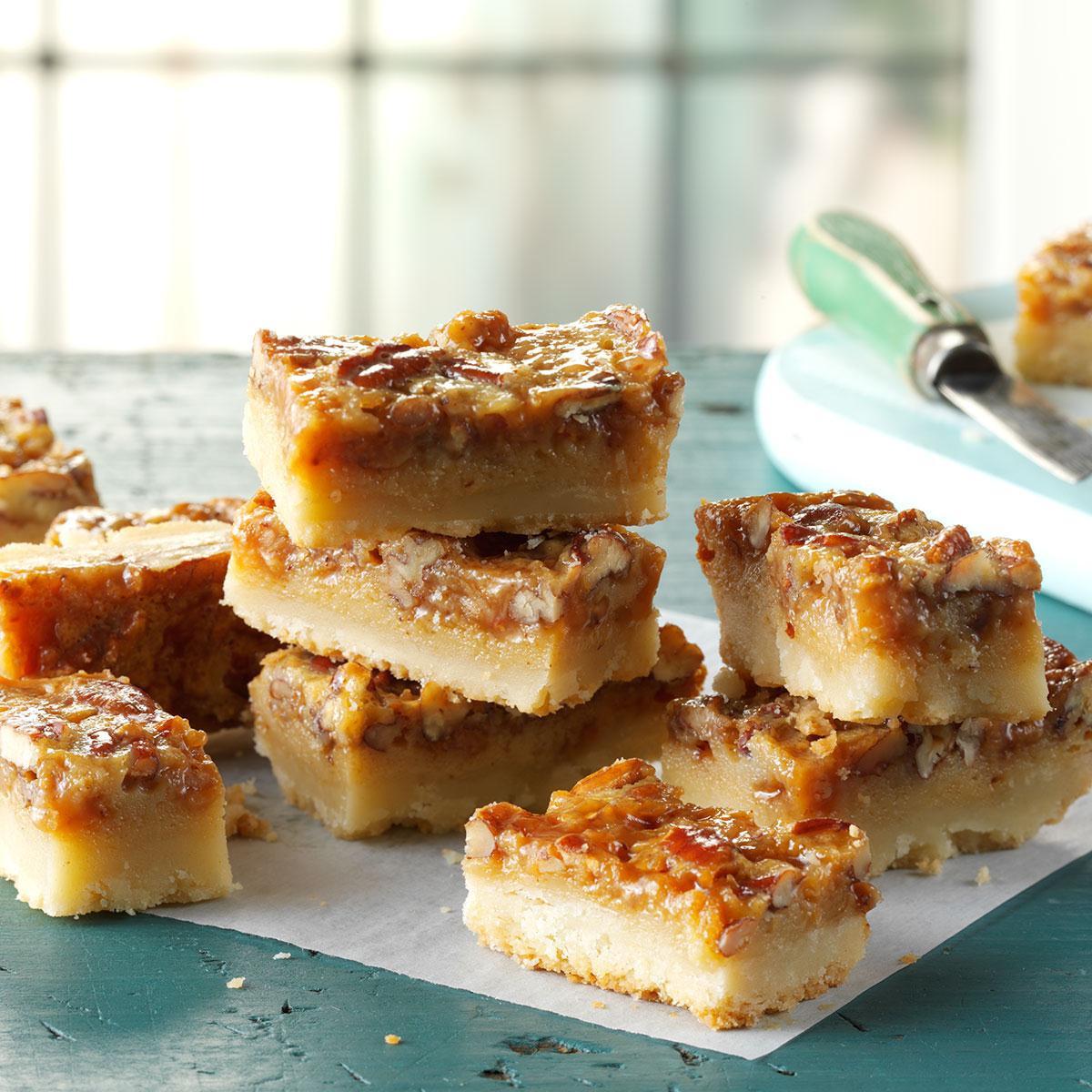 Taste Of Homes Desserts  Pecan Pie Bars Recipe