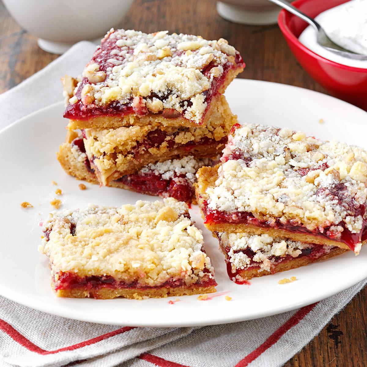 Taste Of Homes Desserts  Cherry Crumb Dessert Recipe