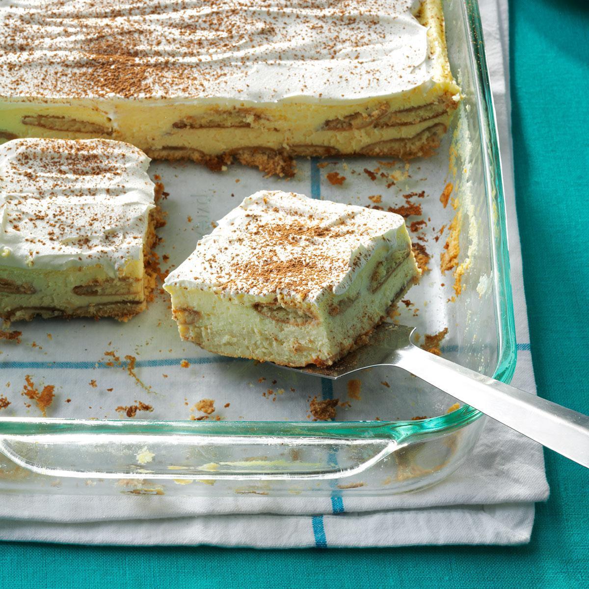 Taste Of Homes Desserts  Tiramisu Cheesecake Dessert Recipe