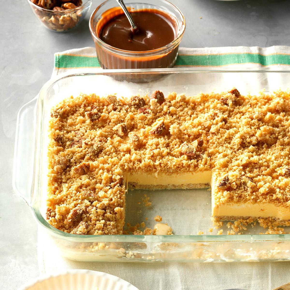 Taste Of Homes Desserts  Delicious Ice Cream Dessert Recipe