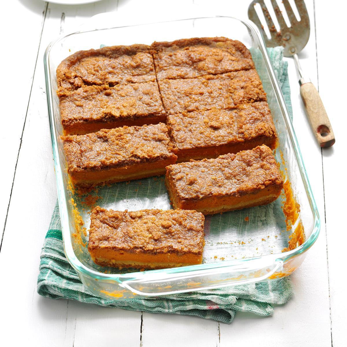 Taste Of Homes Desserts  Pumpkin Dessert Recipe