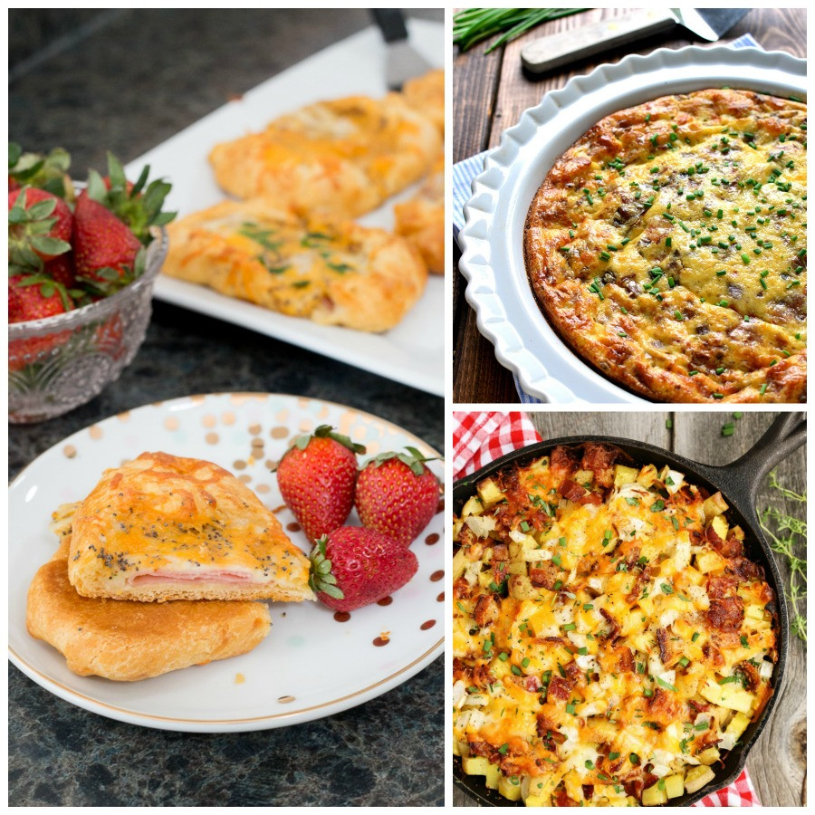 Tasty Breakfast Recipes  30 Brunch Recipes Including Ham & Cheese Crescent Puffs