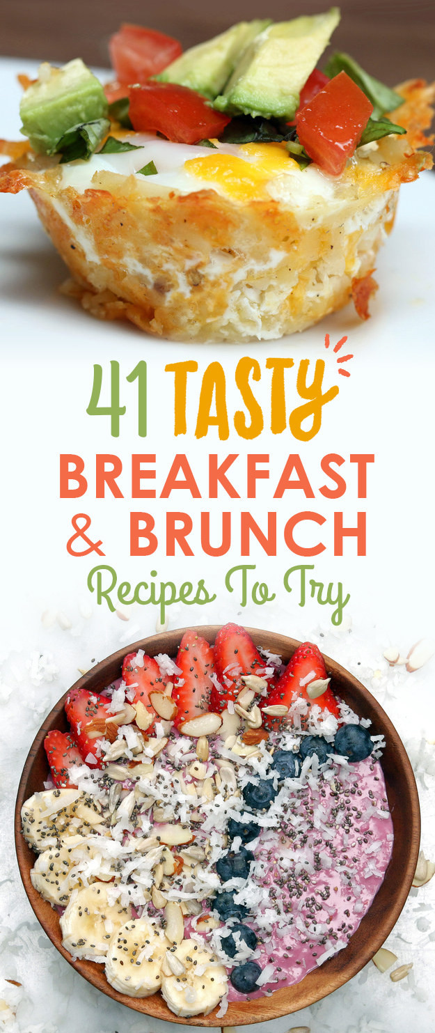 Tasty Breakfast Recipes  41 Tasty Breakfast & Brunch Recipes To Save For Later