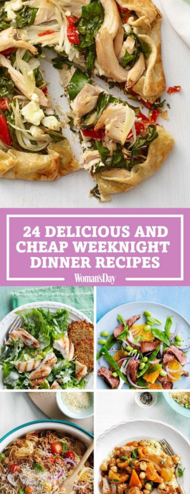 Tasty Dinner Recipes  69 Cheap and Delicious Recipes for Weeknight Dinners