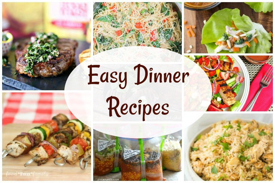 Tasty Dinner Recipes  Easy Dinner Recipes and our Delicious Dishes Recipe Party