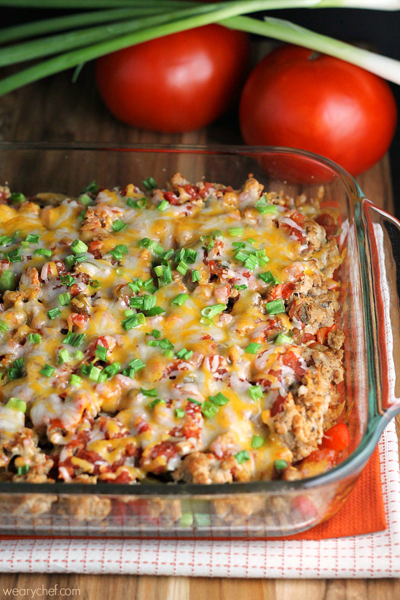 Tasty Dinner Recipes  Layered Mexican Barley Casserole The Weary Chef