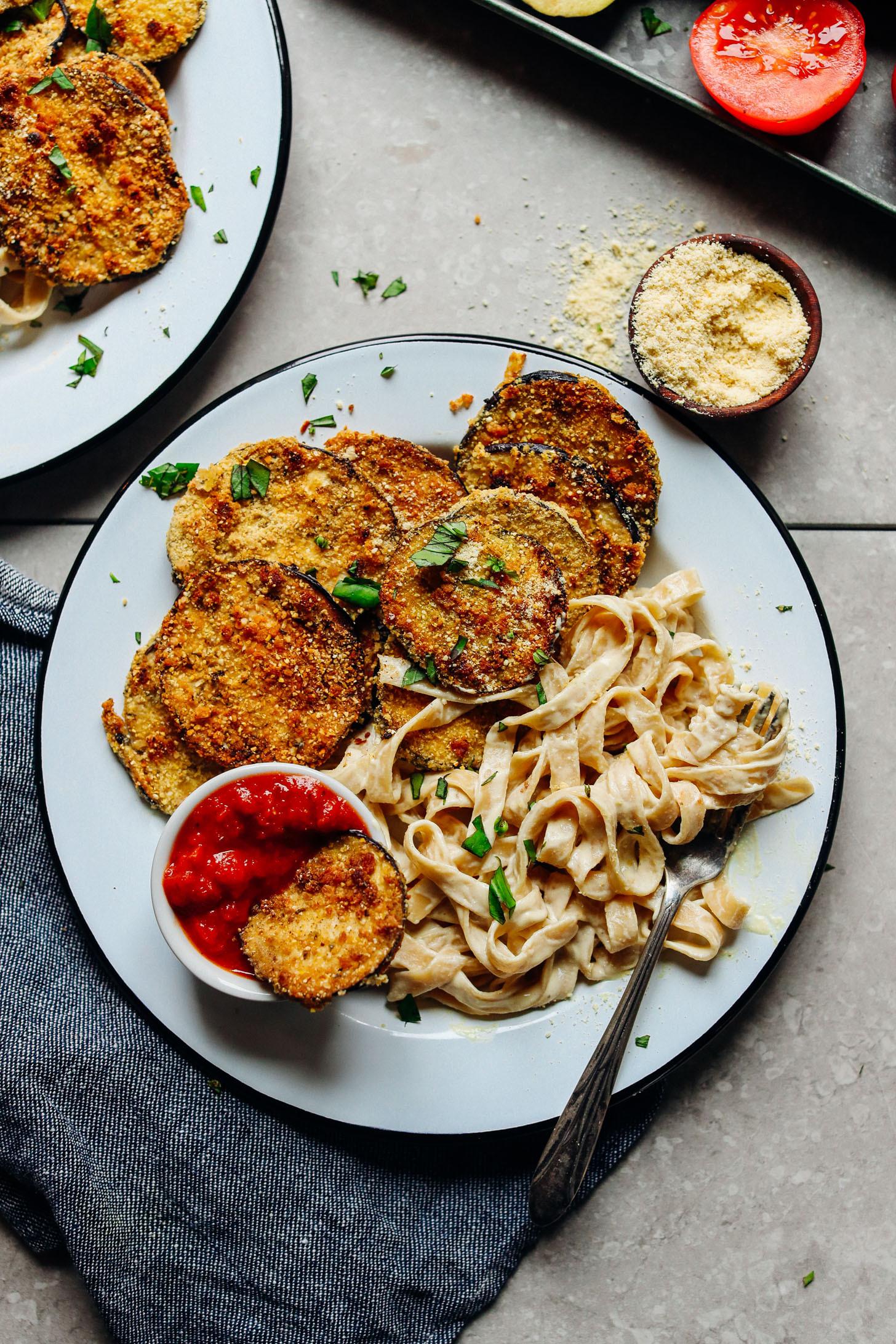 Tasty Dinner Recipes  Vegan Gluten Free Eggplant Parmesan